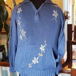 Victoria Jones 1/4 zip sweater